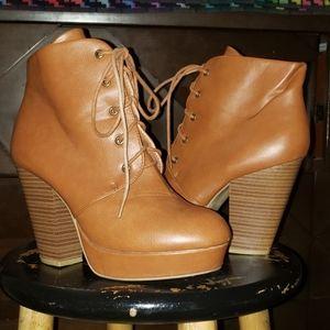 Tan High heels